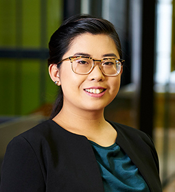 Stephanie Chui - trainee lawyer practices in WorkCover